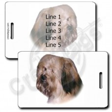 PERSONALIZED HAVANESE LUGGAGE TAG