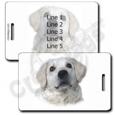 KUVASZ LUGGAGE TAGS