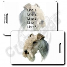 PERSONALIZED LAKELAND TERRIER LUGGAGE TAGS
