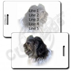 PERSONALIZED LOWCHEN LUGGAGE TAGS