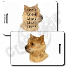 NORWICH TERRIER LUGGAGE TAGS
