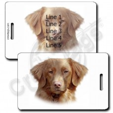 NOVA SCOTIA DUCK TOLLING RETRIEVER LUGGAGE TAGS