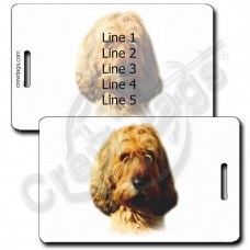 OTTERHOUND LUGGAGE TAGS