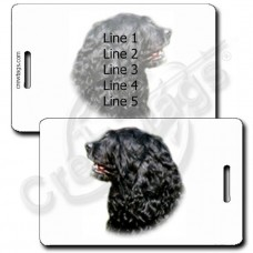 PORTUGUESE WATER DOG LUGGAGE TAGS