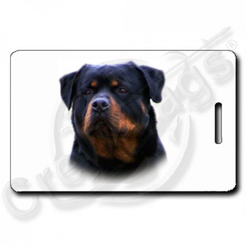 ROTTWEILER LUGGAGE TAGS