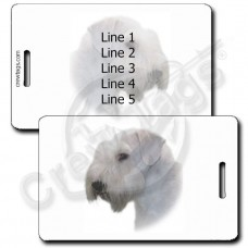 SEALYHAM TERRIER LUGGAGE TAGS