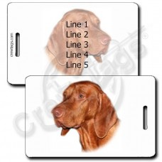 VIZSLA LUGGAGE TAGS