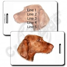VIZSLA LUGGAGE TAGS - WIREHAIR