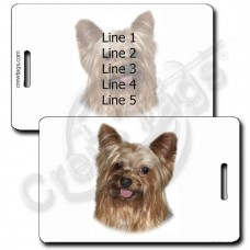 YORKSHIRE TERRIER LUGGAGE TAGS