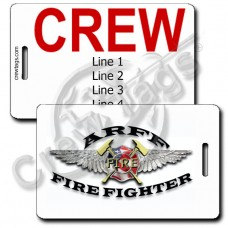 AIRCRAFT RESCUE & FIREFIGHTING CREW TAGS (ARFF)