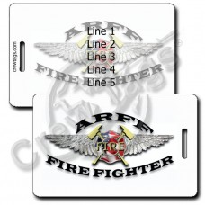 AIRCRAFT RESCUE & FIREFIGHTING LUGGAGE TAGS (ARFF)