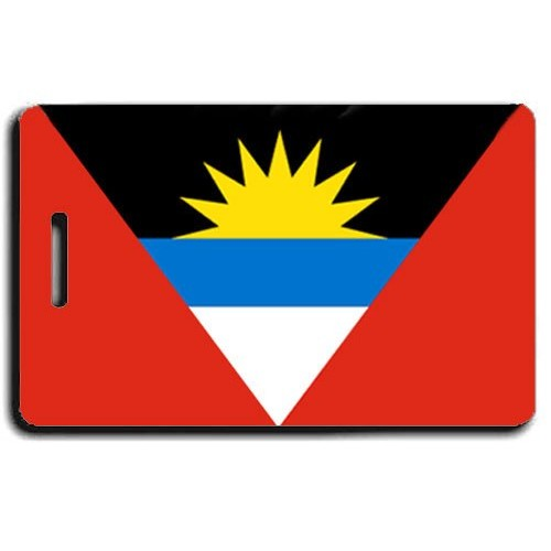 ANTIGUA AND BARBUDA FLAG LUGGAGE TAG
