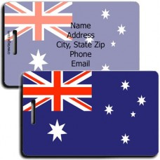 AUSTRALIA FLAG LUGGAGE TAGS
