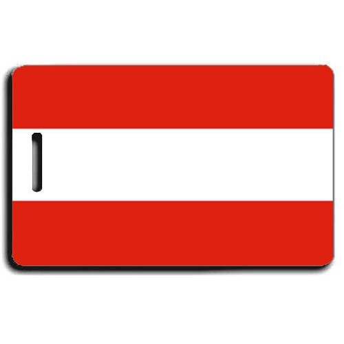 AUSTRIA FLAG LUGGAGE TAG