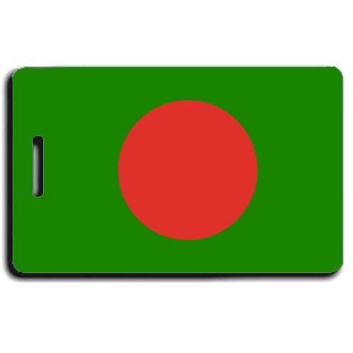 BANGLADESH FLAG LUGGAGE TAG