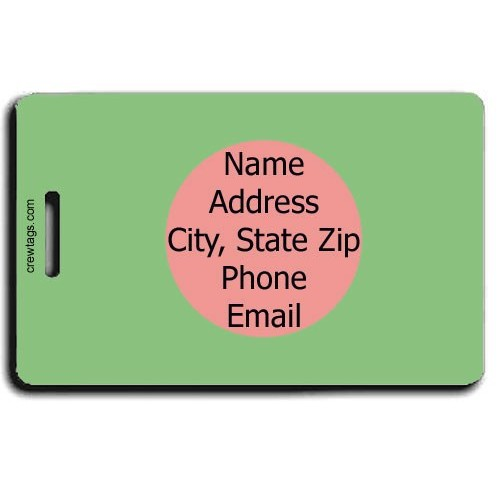 BANGLADESH FLAG PERSONALIZED LUGGAGE TAG