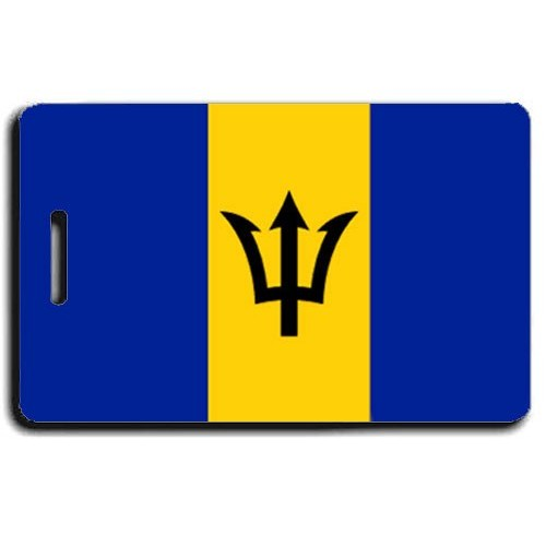 BARBADOS FLAG LUGGAGE TAG