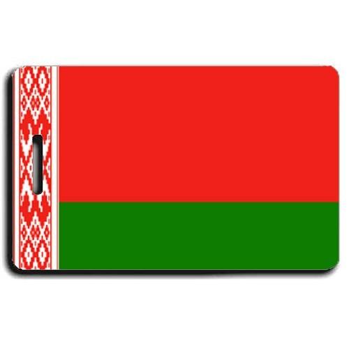 BELARUS FLAG LUGGAGE TAG