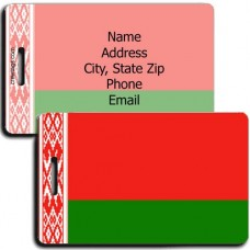 BELARUS FLAG LUGGAGE TAGS