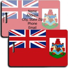 BERMUDA FLAG LUGGAGE TAGS