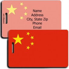 CHINA PERSONALIZED FLAG LUGGAGE TAG