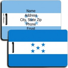 HONDURAS FLAG PERSONALIZED LUGGAGE TAG