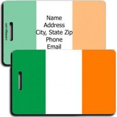 IRELAND PERSONALIZE FLAG LUGGAGE TAG