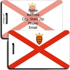 JERSEY FLAG LUGGAGE TAGS