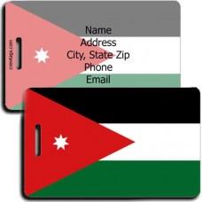 JORDAN PERSONALIZED FLAG LUGGAGE TAG
