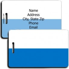 SAN MARINO FLAG LUGGAGE TAGS