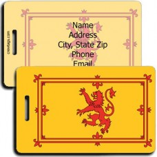SCOTLAND ROYAL FLAG LUGGAGE TAGS