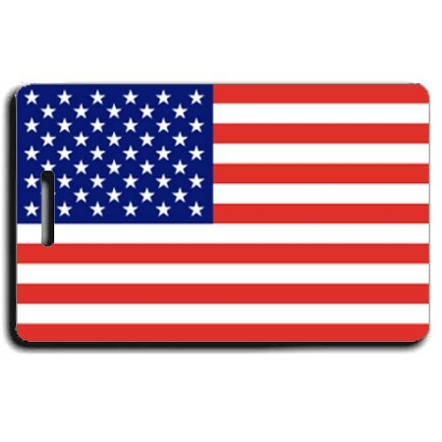 UNITED STATES OF AMERICA LUGGAGE TAGS