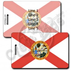FLORIDA STATE FLAG LUGGAGE TAGS