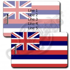 HAWAII STATE FLAG LUGGAGE TAGS