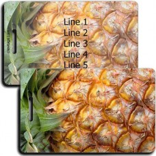 PERSONALIZED PINEAPPLE LUGGAGE TAGS
