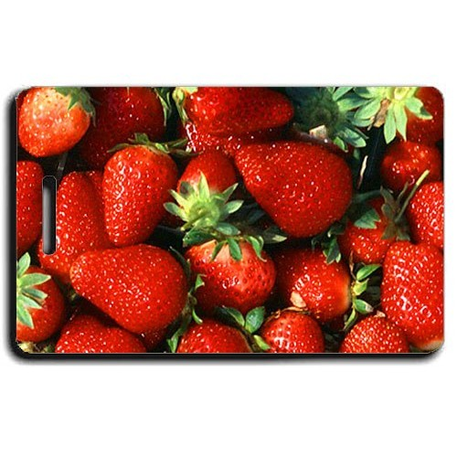 STRAWBERRY LUGGAGE TAGS