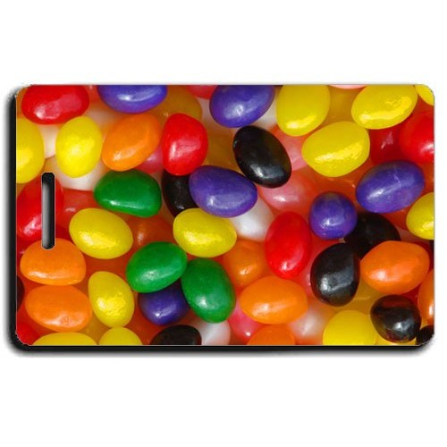 JELLY BEAN LUGGAGE TAGS