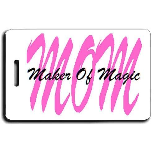 MOM - MAKER OF MAGIC LUGGAGE TAGS