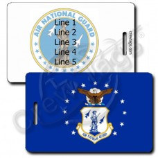 AIR NATIONAL GUARD FLAG LUGGAGE TAGS