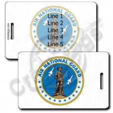 AIR NATIONAL GUARD SEAL LUGGAGE TAGS