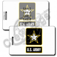 UNITED STATES ARMY LOGO LUGGAGE TAGS