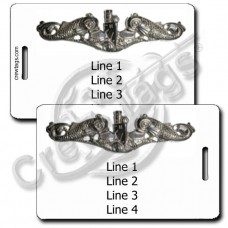 NAVAL SUBSURFACE WARFARE LUGGAGE TAGS