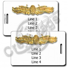 NAVAL SURFACE WARFARE MEDICAL LUGGAGE TAGS