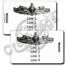 NAVAL SURFACE WARFARE SPECIALIST LUGGAGE TAGS