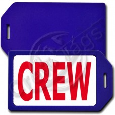 PRIVACY PROTECTION CREW TAG - BLUE CASE WITH RED CREW INSERT