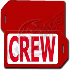 PRIVACY PROTECTION CREW TAG - RED CASE WITH RED CREW INSERT