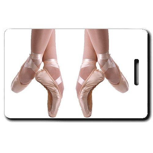BALLET PERSONALIZED LUGGAGE TAGS