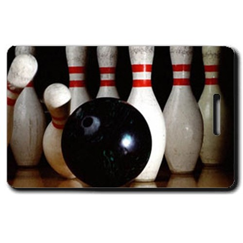 BOWLING PERSONALIZED LUGGAGE TAGS