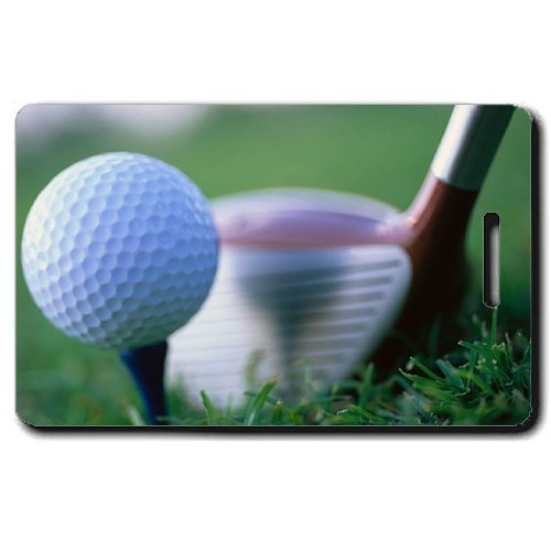 GOLF PERSONALIZED LUGGAGE TAGS