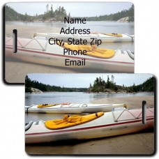 PERSONALIZED KAYAK LUGGAGE TAGS